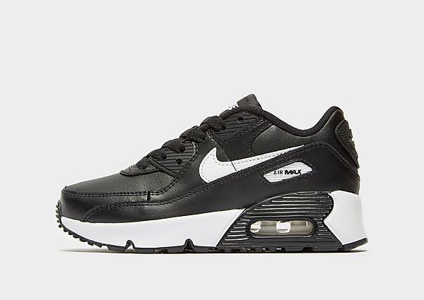 Nike Air Max 90 infantil, Black/White