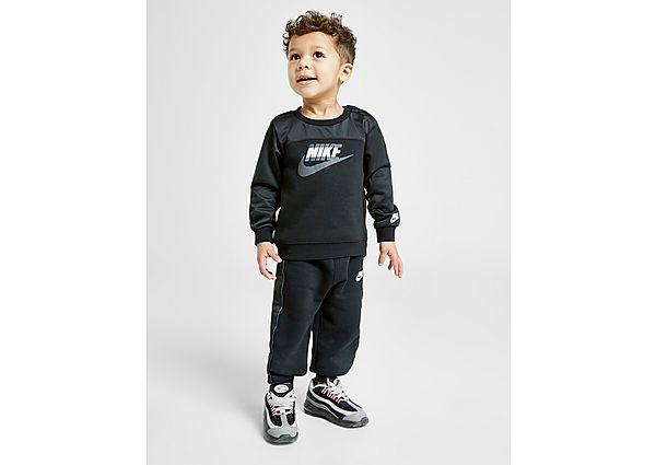 Nike Hybrid Crew Suit Baby's - Black - Kind
