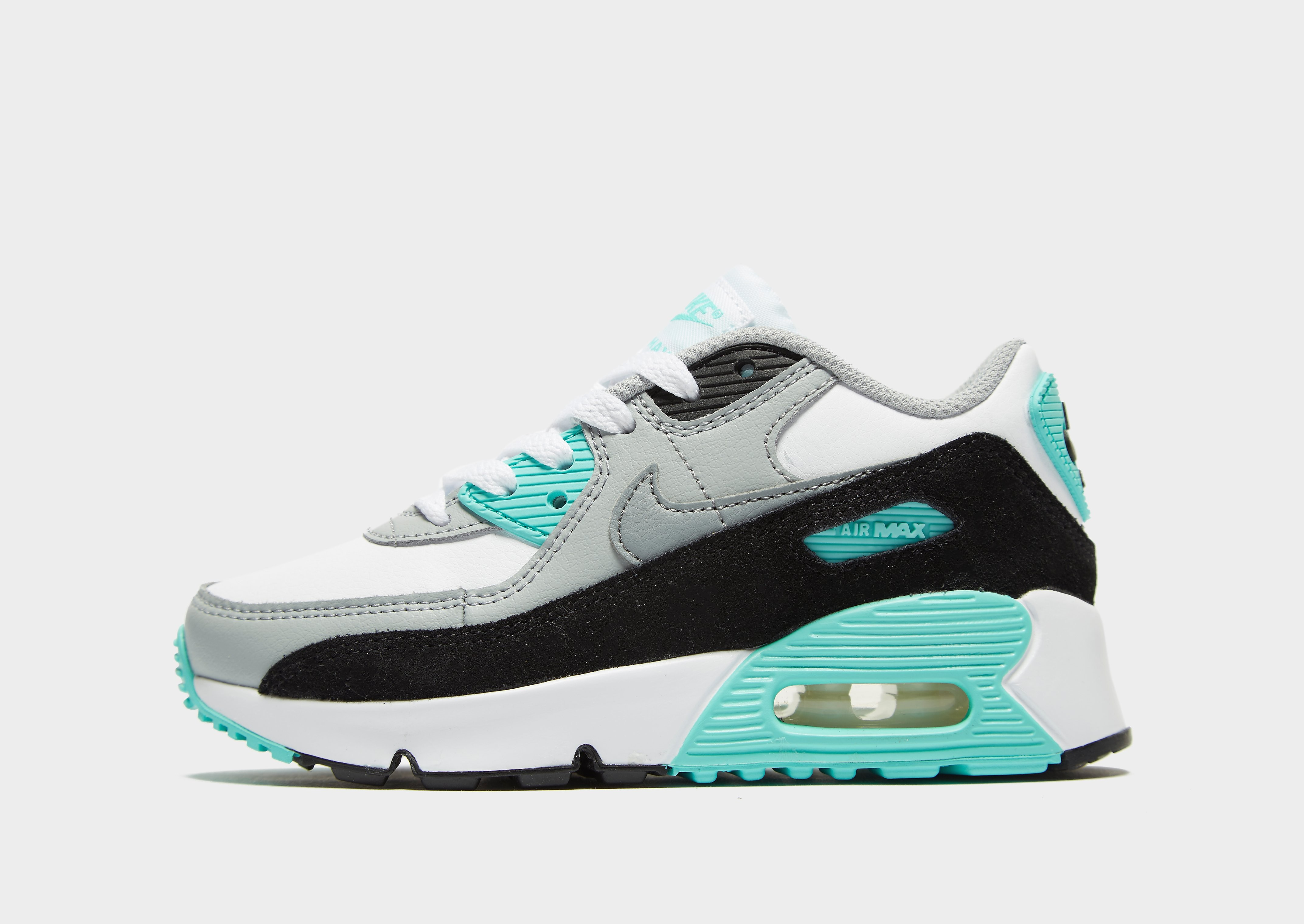 Nike Air Max 90 Leather infantil, Blanco