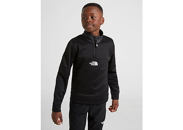The North Face Mittillegti 1/4 Zip Sweatshirt Junior - Black - Kind