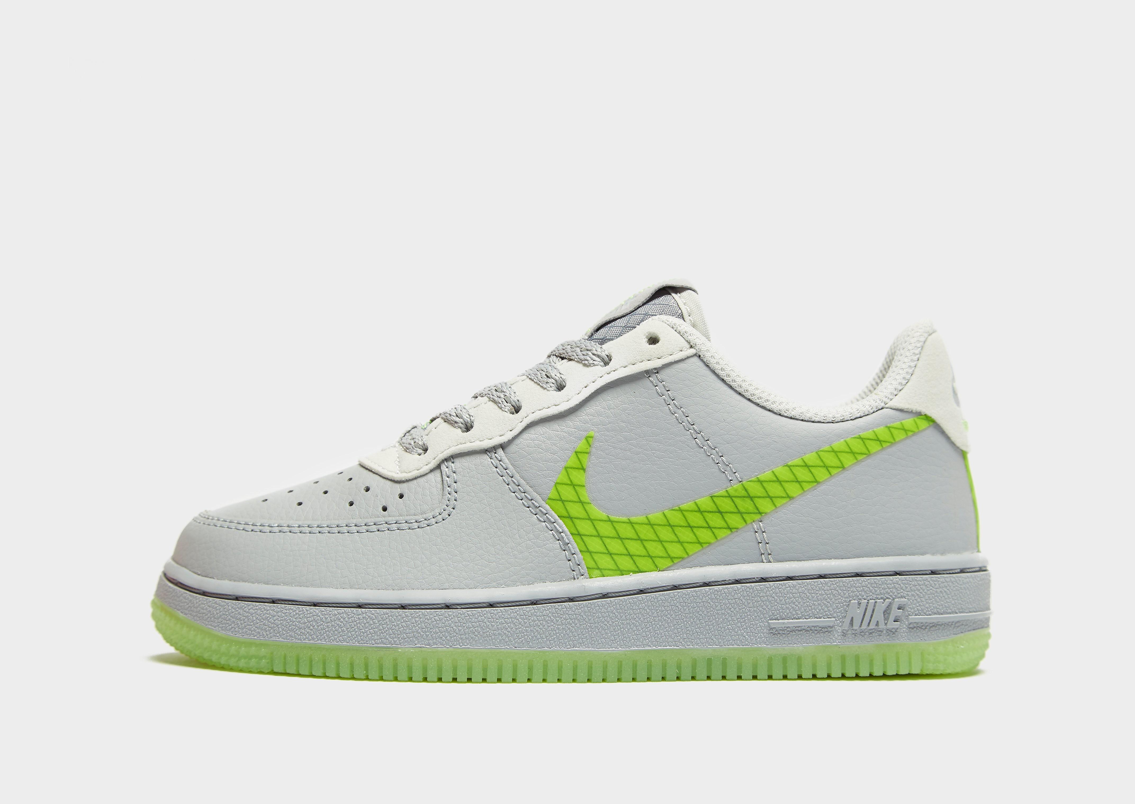 Nike Air Force 1 Low Children Grijs Kind Grijs