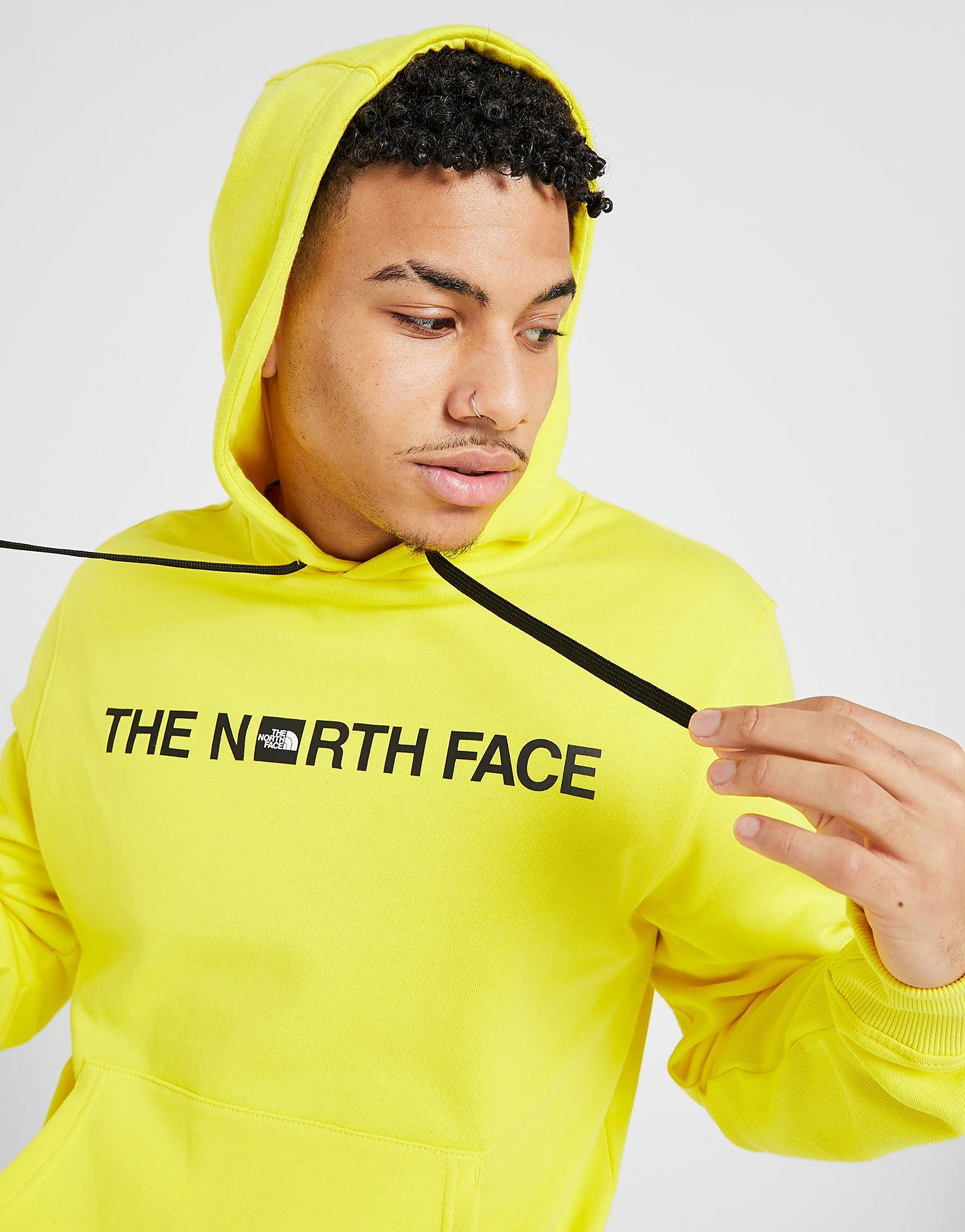 The North Face Overhead Central Logo Bondi Hoodie alleen bij JD Geel Heren