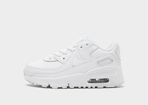 Comprar deportivas Nike Air Max 90 Leather para bebé, White