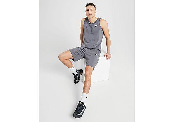 Nike Foundation Shorts Heren - Grey - Heren