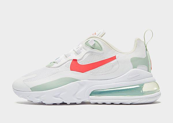 Nike Air Max 270 React Dames - alleen bij JD - White/Green - Dames