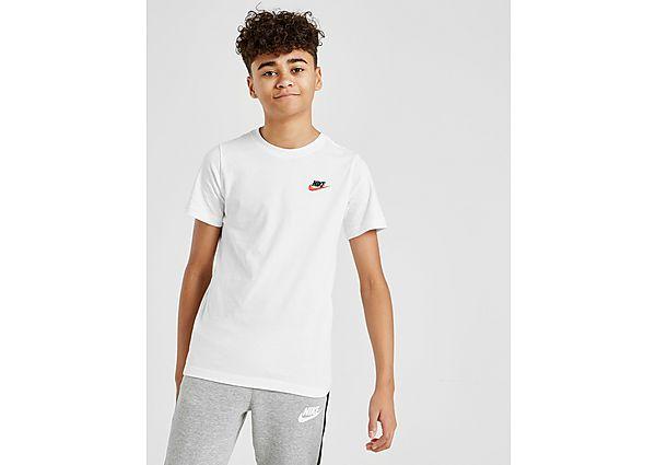 Comprar Ropa deportiva para niños online Nike camiseta Small Logo júnior, White