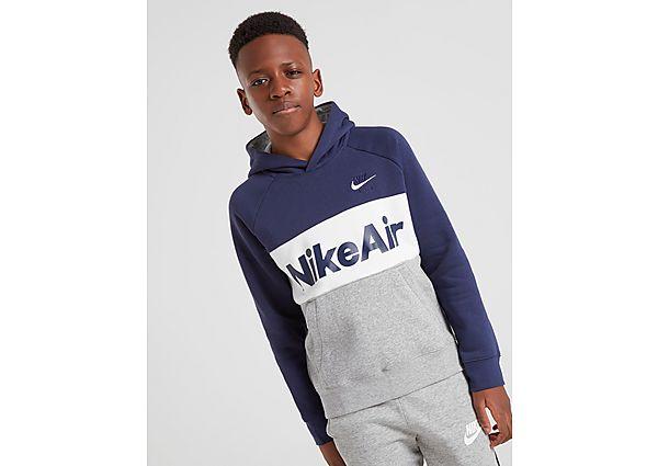 Nike Air Overhead Hoodie Junior - Blue - Kind