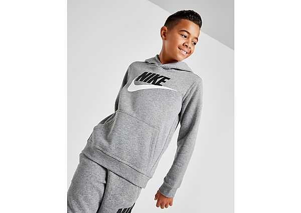 Nike Fleece Overhead Hoodie Junior - Grey - Kind