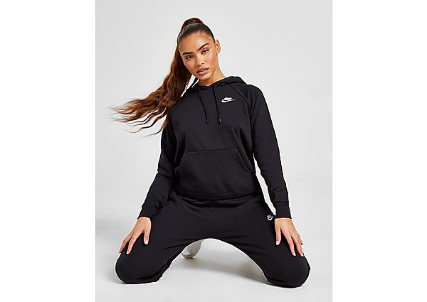 Ropa deportiva Mujer Nike sudadera con capucha Sportswear Essential, Black