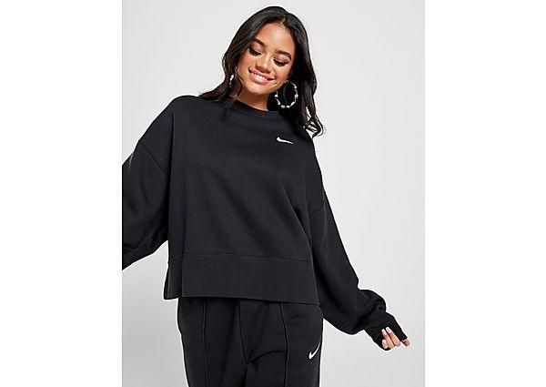 Ropa deportiva Mujer Nike sudadera Trend Fleece Oversized, Black