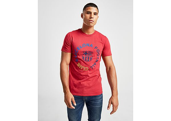 Official Team camiseta FC Barcelona Circle, Red/Blue/Yellow