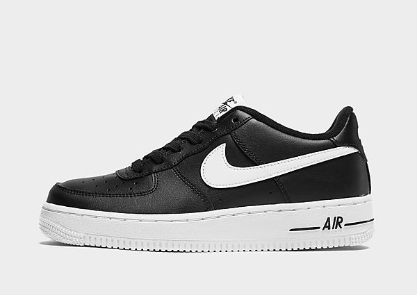 Nike Air Force 1 Low júnior, Black/White