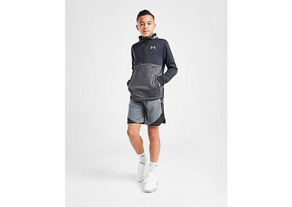 Under Armour Fleece Reflective 1/4 Zip Trainingstop Junior - Black - Kind