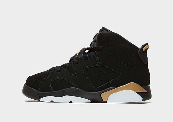 Jordan Air 6 Retro SE 'DMP' Children, Black/Gold