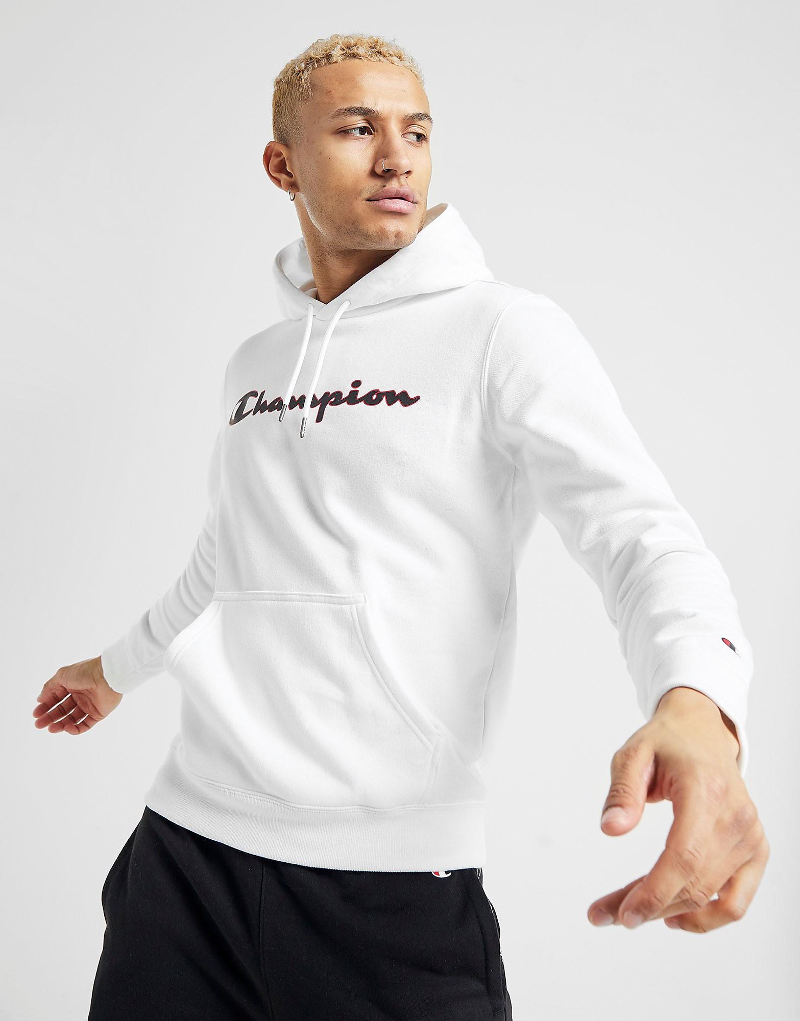 Champion Core Hoodie alleen bij JD Wit Heren Wit