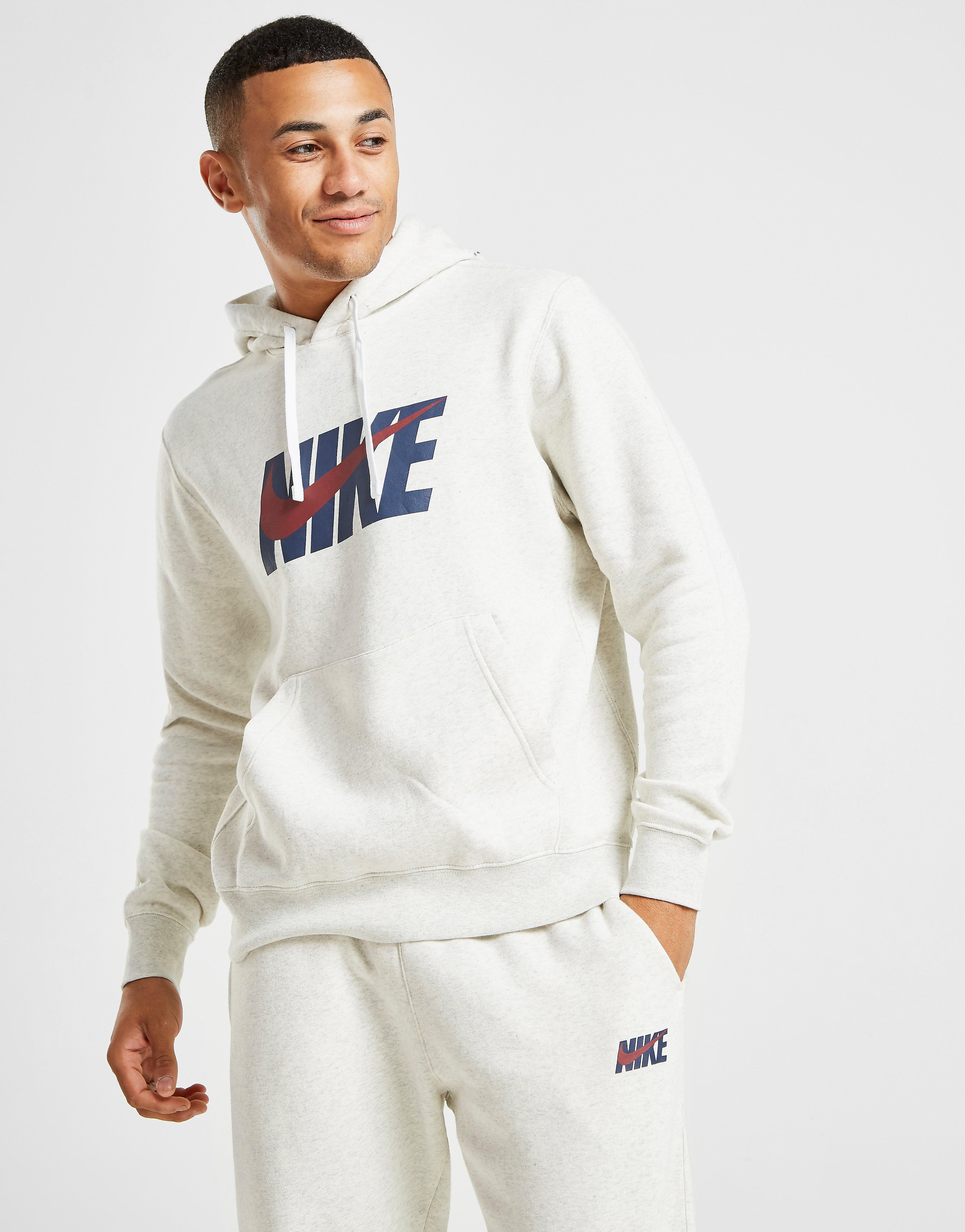 17% Sale Nike Overhead Club Hoodie Grau Mens, Grau