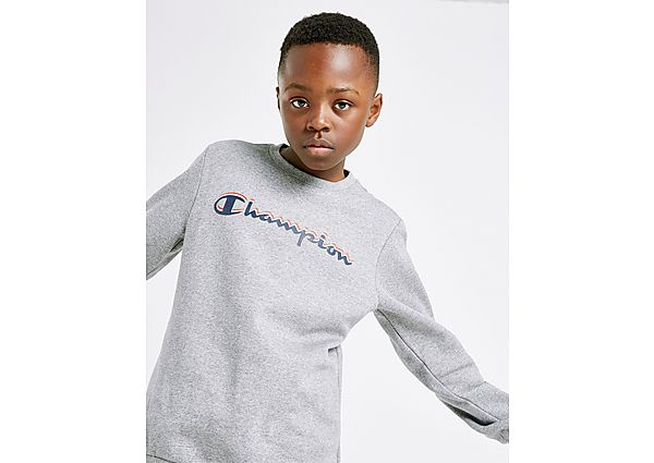 Champion Fleece Crew Sweatshirt Junior - Grey - Kind