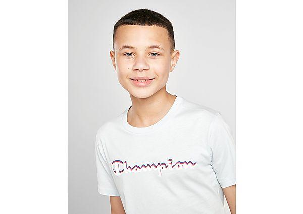 Champion Large Logo T-Shirt Junior - Blue - Kind