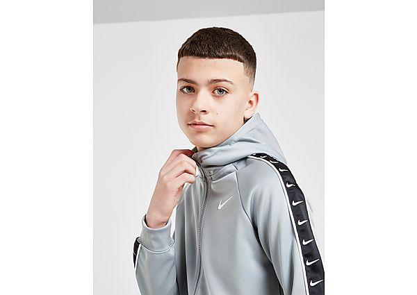 Nike Tape Poly Full Zip Hoodie Junior - Grey - Kind