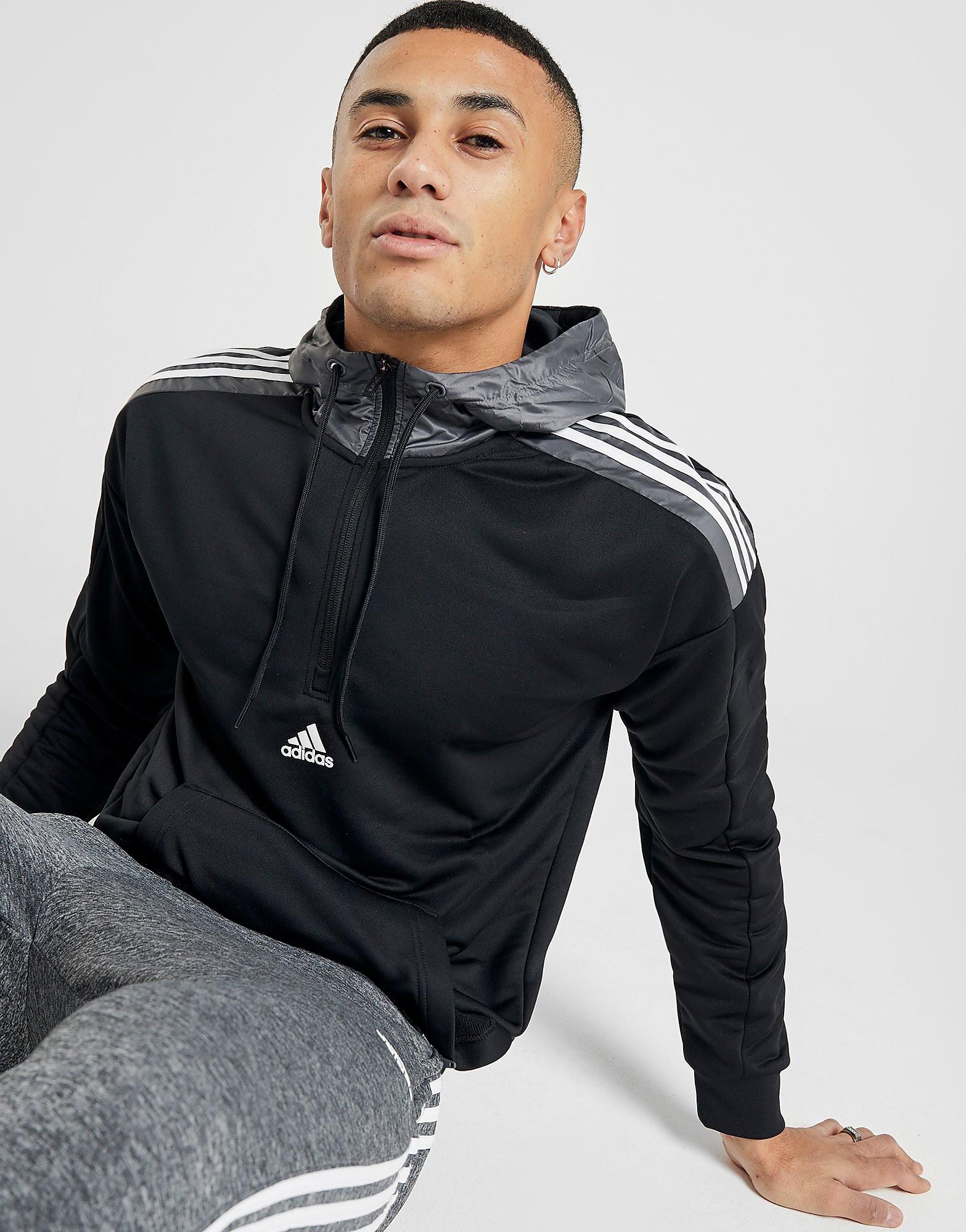 adidas Match 12 Zip Hoodie BLKG5BLKG5