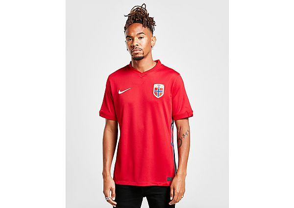 Nike camiseta Noruega 2020/21 1.ª equipación, Red