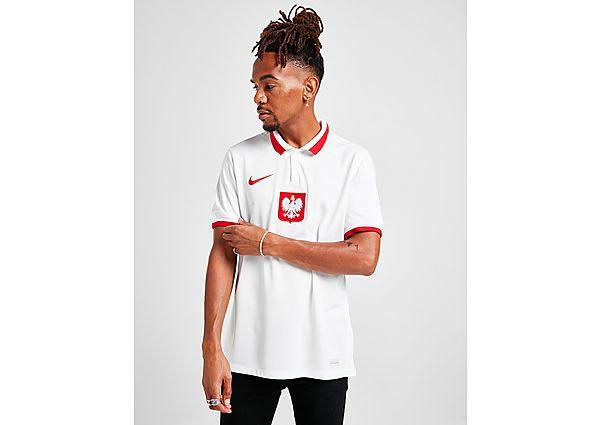 Nike camiseta Polonia 2020/21 1.ª equipación, White