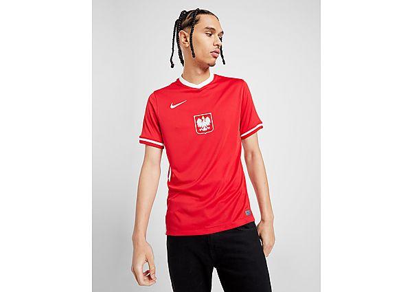 Nike camiseta Polonia 2020/21 2.ª equipación, Red