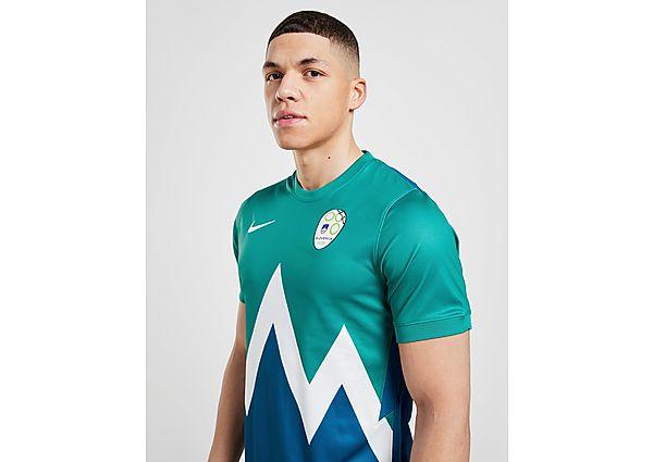 Nike camiseta Eslovenia 2020/21 2.ª equipación, Green