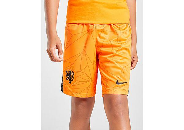 Nike pantalón corto Holanda 2020/21 1.ª equipación júnior, Orange