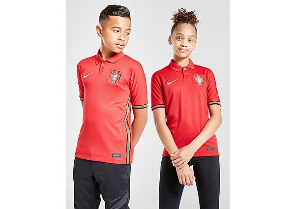 Nike camiseta selección de Portugal 2020/21 1.ª equipación júnior, Red