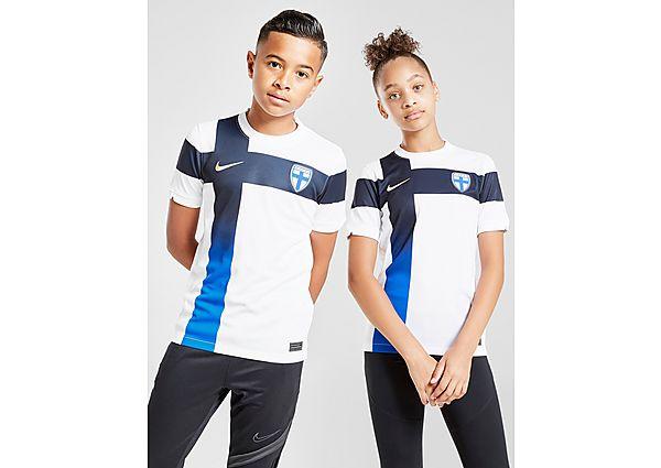 Nike camiseta selección de Finlandia 2020 1.ª equipación júnior, White