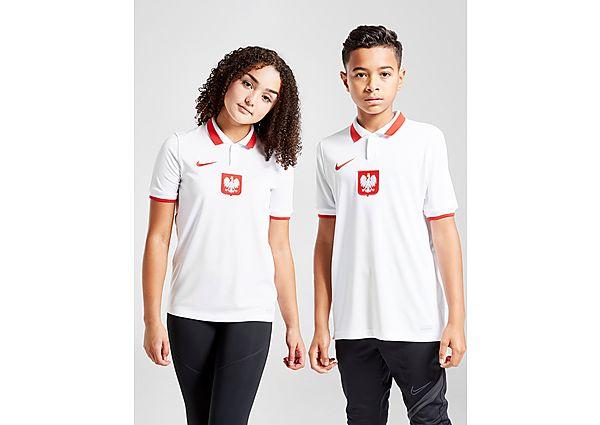 Nike camiseta Polonia 2020/21 1.ª equipación júnior, White