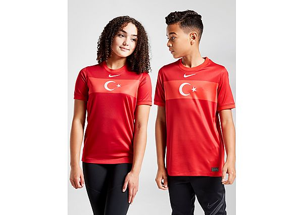 Nike camiseta Turquía 2020/21 2.ª equipación júnior, Red