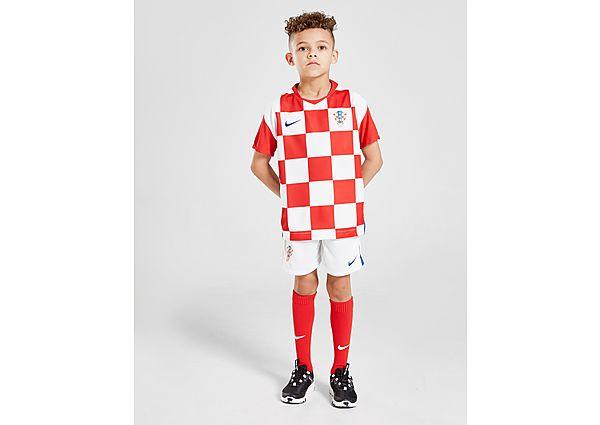 Nike conjunto selección de Croacia 2020 1.ª equipación infantil, Red/White