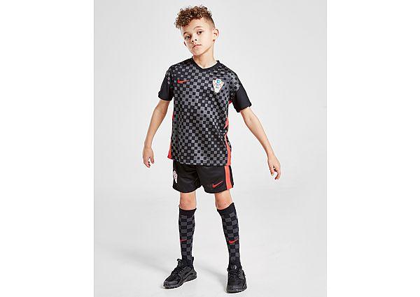 Nike conjunto Croacia 2020 3.ª equipación infantil, Black/Grey