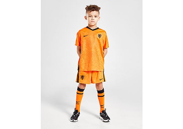 Nike conjunto Paises Bajos 2020/21 1.ª equipación para bebéil, Orange