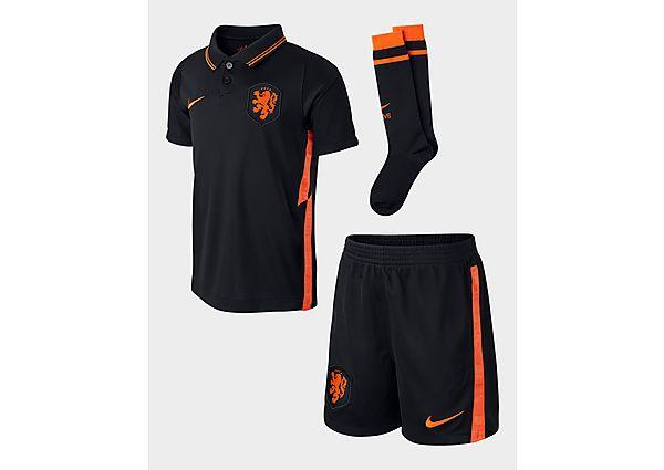 Nike conjunto Países Bajos 2020/21 3.ª equipación infantil, Black
