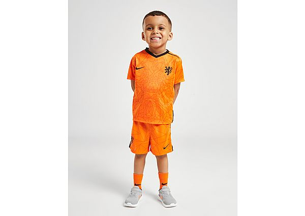 Nike conjunto Holanda 2020/21 1.ª equipación para bebé, Orange