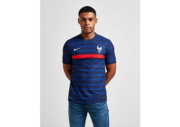 Nike camiseta Vapor selección de Francia 2020 1.ª equipación, Blue/Red
