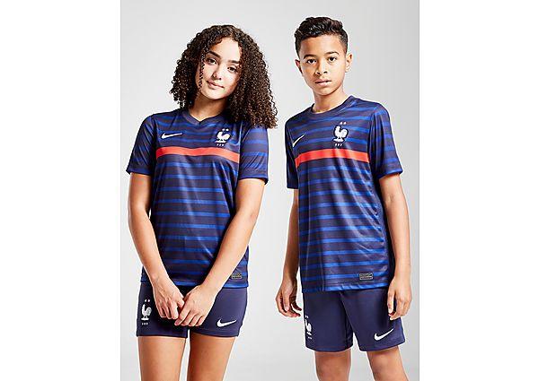 Nike camiseta selección de Francia 2020 1.ª equipación júnior, Blue/Red