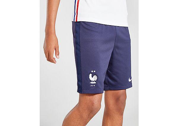 Nike pantalón corto selección de Francia 2020 1.ª equipación júnior, Blue