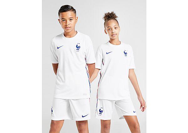 Nike camiseta selección de Francia 2020 2.ª equipación júnior, White/Blue/Red