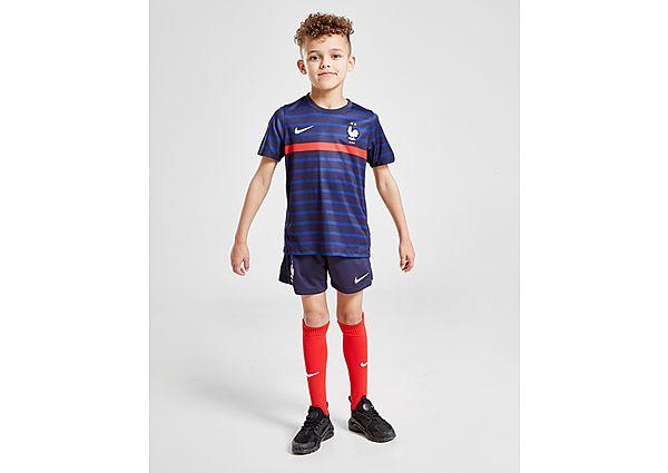 Nike selección de Francia 2020 conjunto 1.ª equipación infantil, Blue/Red
