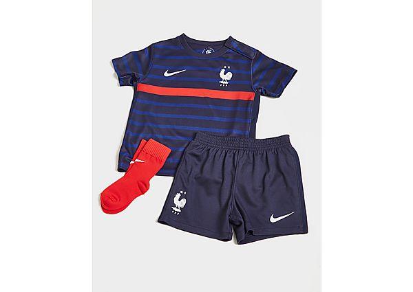 Nike selección de Francia 2020 conjunto 1.ª equipación para bebé, Blue/Red