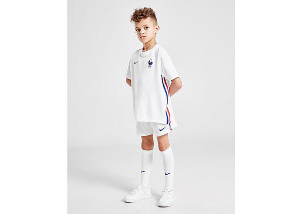 Nike selección de Francia 2020 conjunto 2.ª equipación infantil, White/Blue/Red