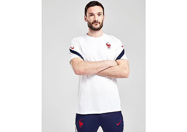 Nike camiseta selección de Francia Strike, White/Blue