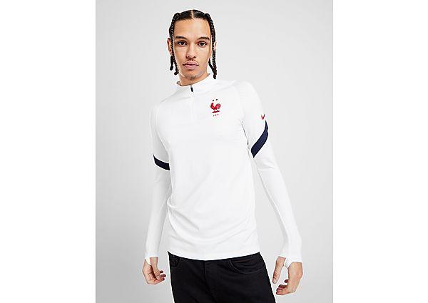Nike camiseta técnica selección de Francia Strike, White/Red/Blue
