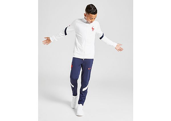 Nike chándal selección de Francia Strike júnior, White/Blue/Red