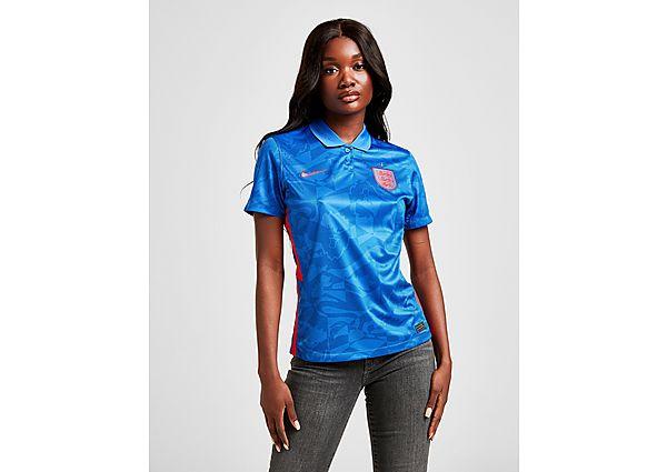 Ropa deportiva Mujer Nike camiseta England 2020 2.ª equipación para mujer, Blue/Red