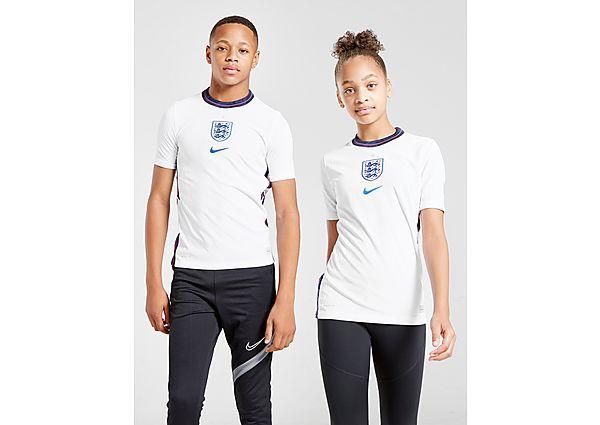 Nike camiseta Vapor selección de Inglaterra 2020 1.ª equipación júnior, White/Navy